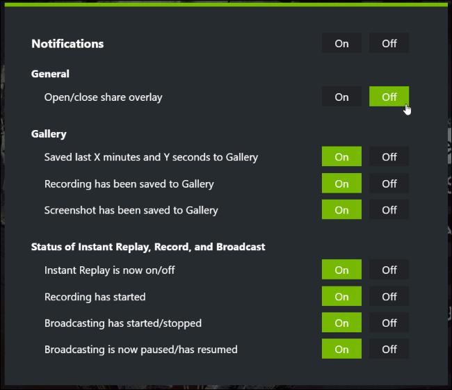 Nvidia Geforce Experience 5