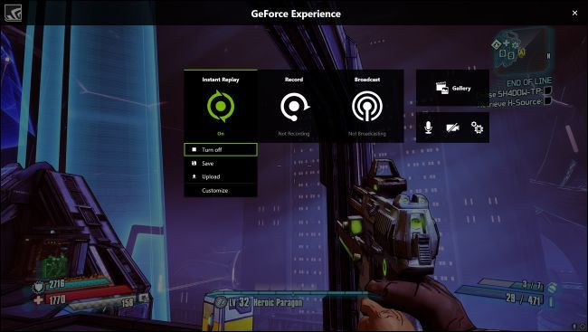 Nvidia Geforce Experience 7
