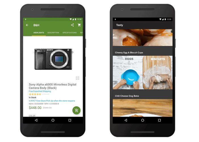 Google Android Nougat Instant Apps
