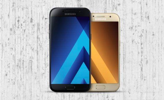 Samsung Galaxy A3 2017 Galaxy A5 2017