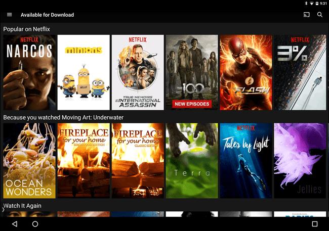 Netflix Offline 3
