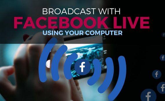 Facebook Live PC