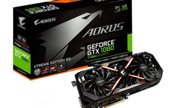 NVIDIA GTX 1080 GTX 1060 memorias 11 Gbps 9 Gbps