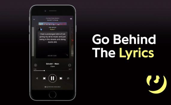 Spotify Behind The Lyrics