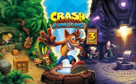 Crash Bandicoot N. Sane Trilogy tema dinámico PS4