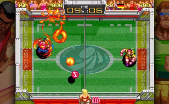 Windjammers PS4 PS Vita