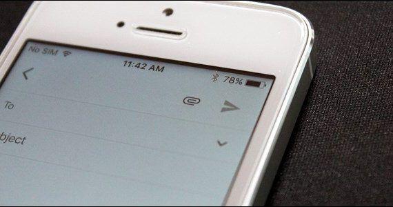 Gmail desde el iPhone
