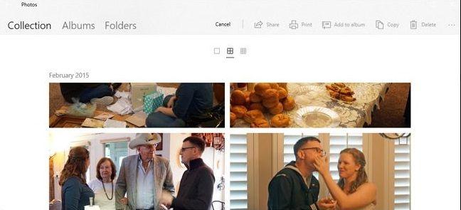 5cceaff2ed Si eliges la opción de «colección» podrás observar todas tus imágenes y  capturas de pantalla desde las más recientes hasta las más antiguas.