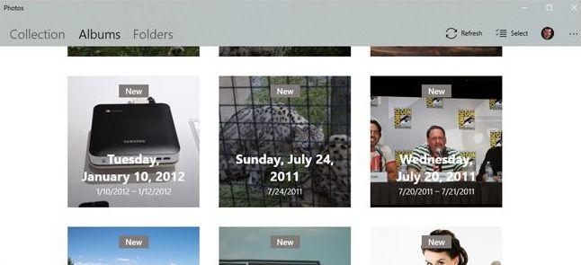 48645ca12c En «carpetas» podrás visualizar todas las imágenes que tienes guardadas en  tu ordenador o en la nube. Como es el caso de OneDrive.