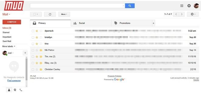 gmail y protonmail