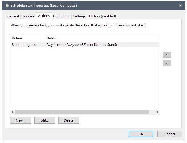 actualizaciones manuales en windows 10