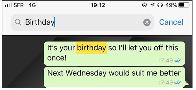 mensajes de chat de whatsapp
