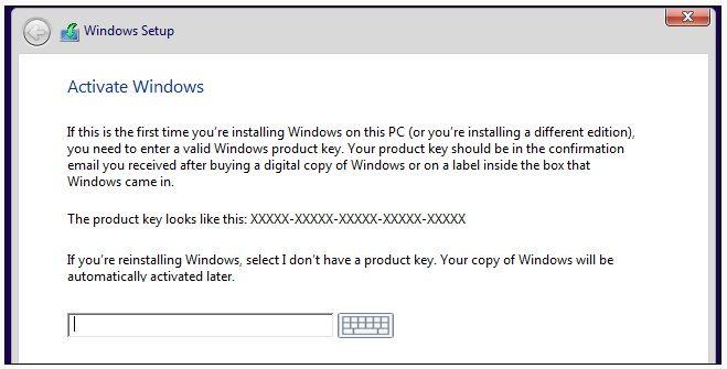 clave de windows 8.1 para instalacion