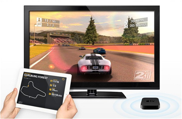 mediante AirPlay Mirroring y Apple TV