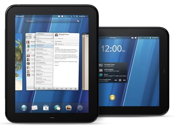 Tablet Touchpad WebOS