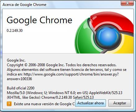 Google Chrome beta 3 preparada para ser instalada - islaBit