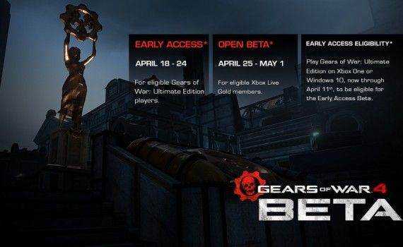 Gears of War 4 multijugador