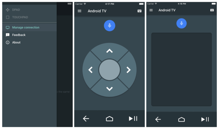 Android TV iPhone