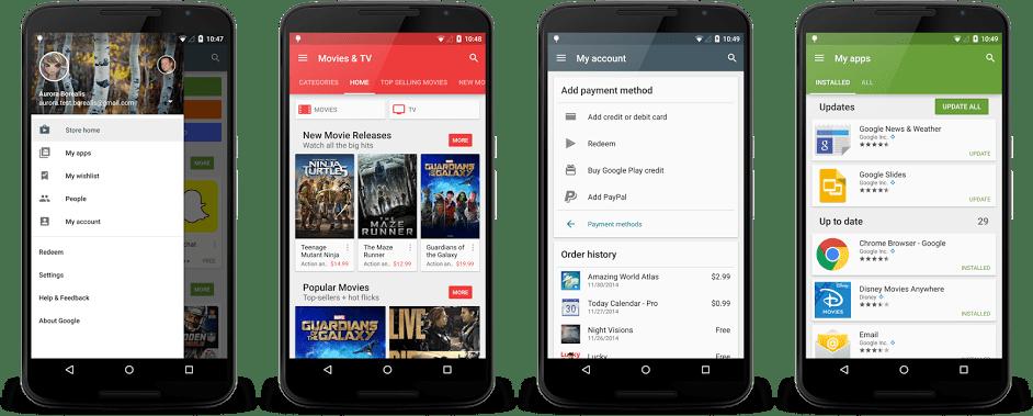 Google Play Store 6.4.12