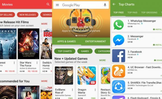 Google Play Store 6.4.13