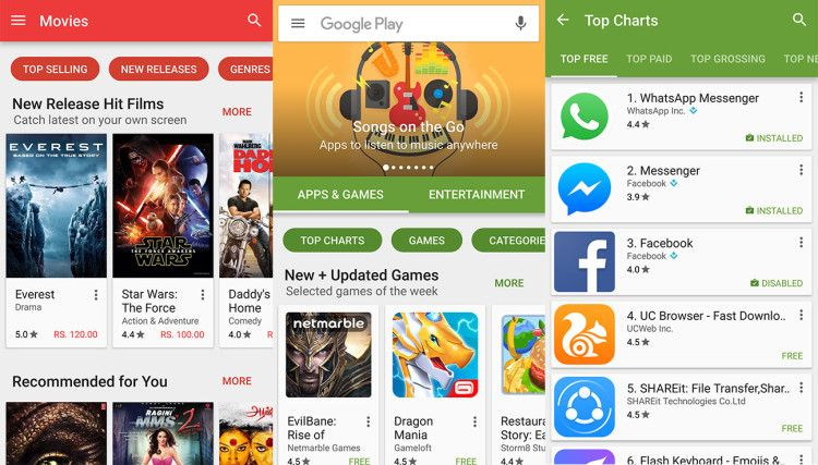 Google Play Store 6.4.13