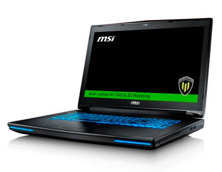 MSI WT72 Workstation Intel i7-6920HQ