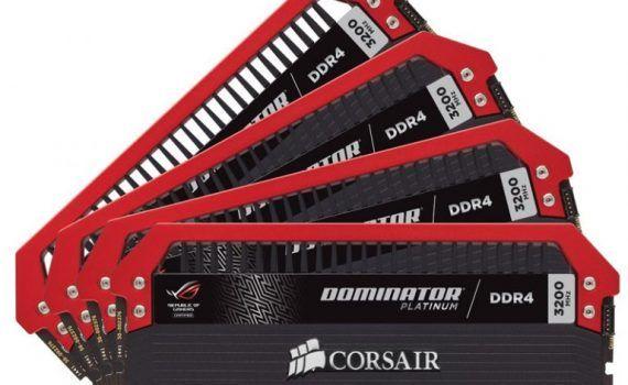 Corsair-Dominator Platinum ROG Edition