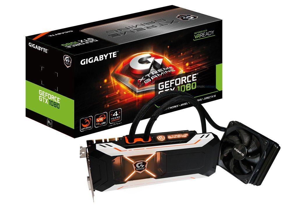 GTX 1080 Xtreme Gaming refrigeración líquida