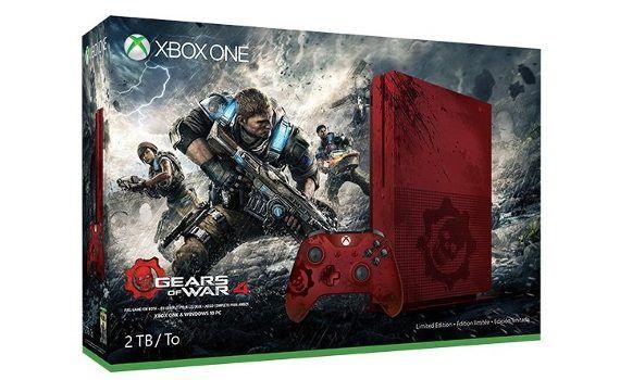Edición especial Gears of War 4 Xbox One S