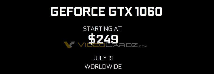NVIDIA GeForce GTX 1060 precios