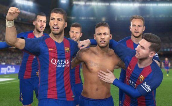 Pro Evolution Soccer 2017 FC Barcelona