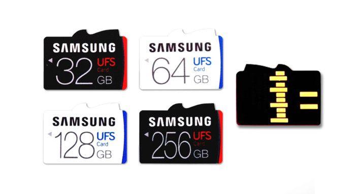Samsung tarjetas microSD UFS