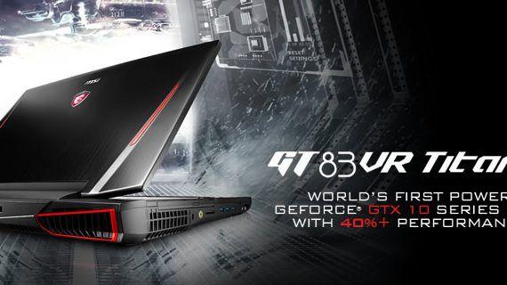 GT73VR Titan SLI