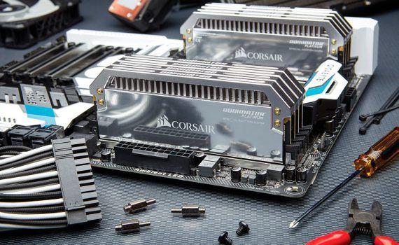 Corsair edición especial de Dominator Platinium DDR4