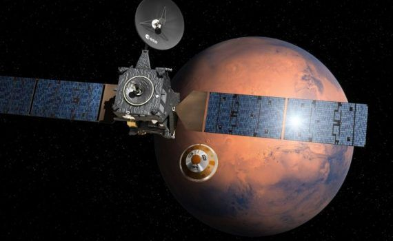 Módulo Schiaparelli Marte