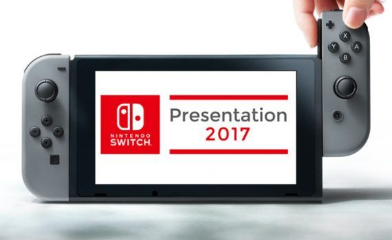 Nintendo Switch presentación 13 enero