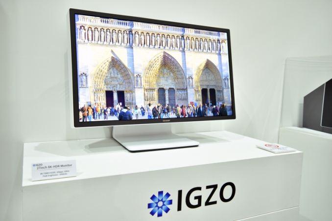 Sharp IGZO HDR de 27 pulgadas 8K