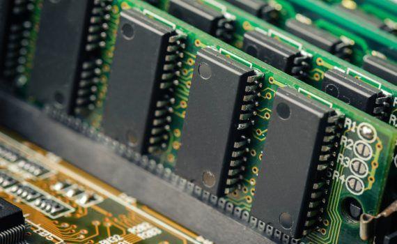 radiación de terahertz memoria RAM