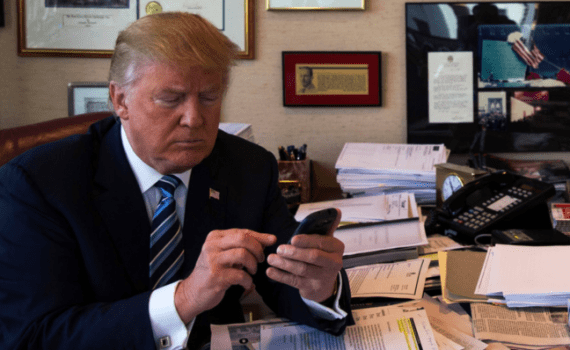 Donald Trump iPhone