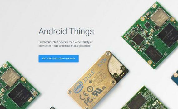 Google Android Things Internet de las Cosas