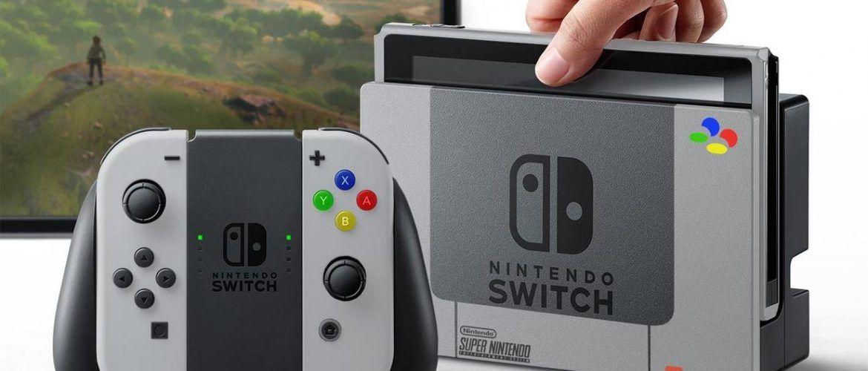 Nintendo Switch batería