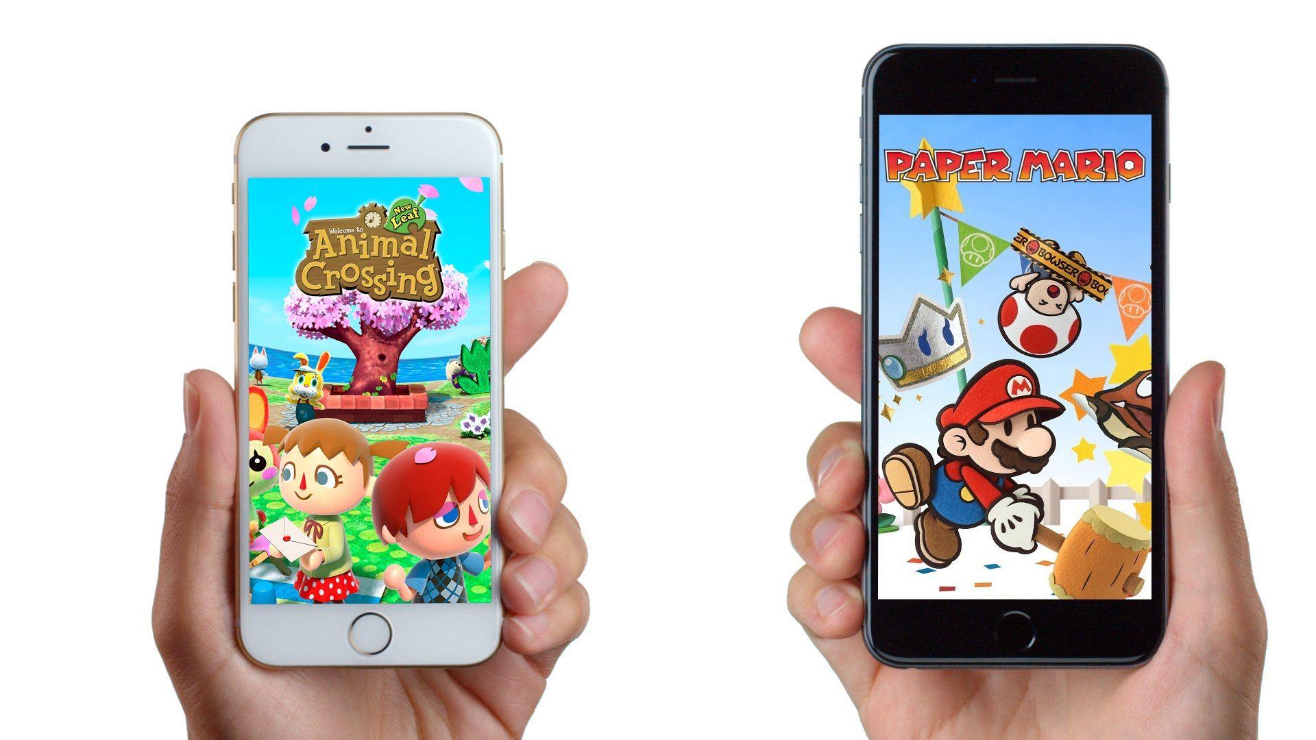 Nintendo juegos móviles 3