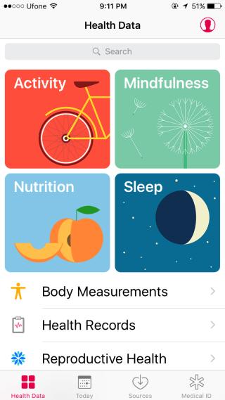 iOS Health 1