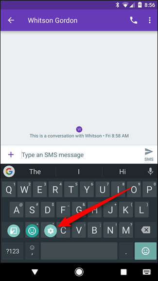 Gboard de Android 4