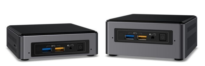 Intel mini-PC NUC CES 2017