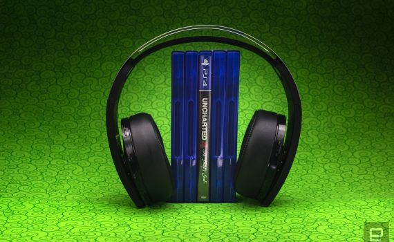 PS4 PlayStation Platinum Wireless Headset