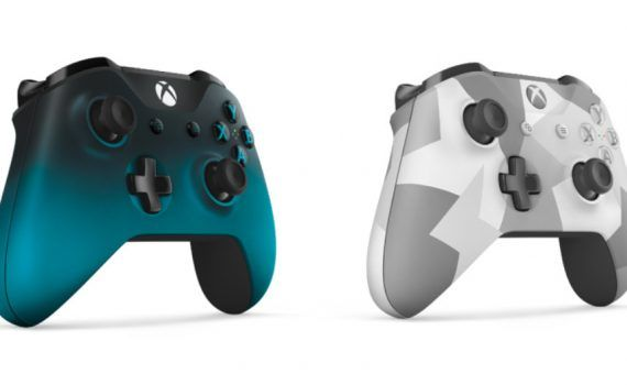 Xbox Mandos Ocean Shadow y Winter Forces