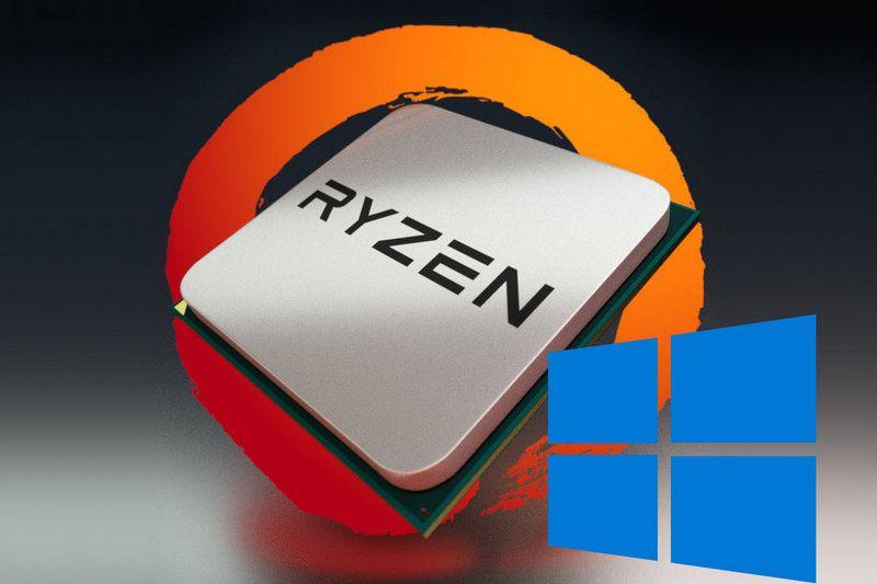 AMD Ryzen Windows 10