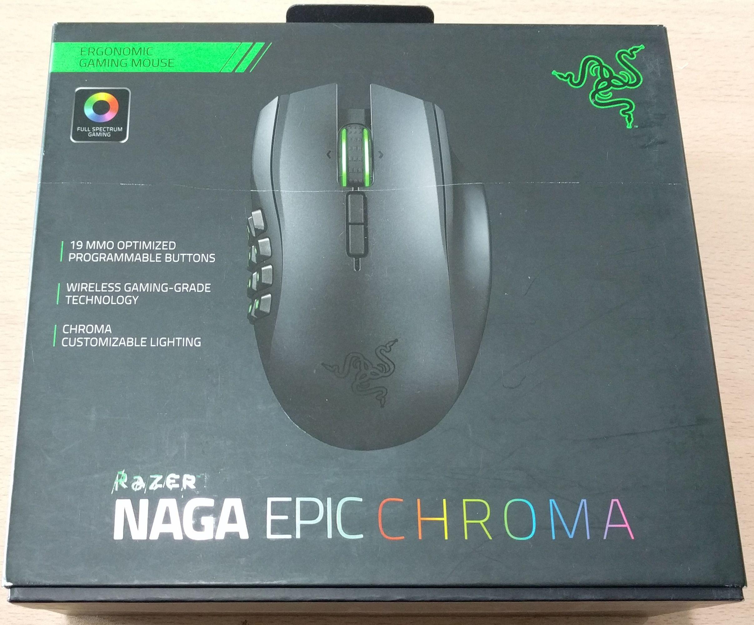 Razer Naga Epic Chroma Ratn Gaming Review Pgina 2 De 5 Islabit Wired Wireless Mmo 1