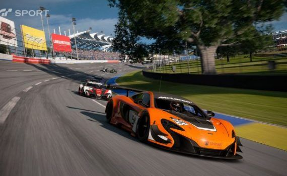 Gran Turismo Sport PS4 Pro